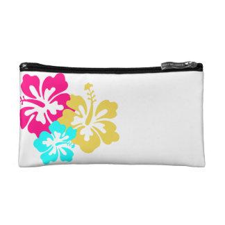 ハワイのハイビスカスの花 コスメティックバッグ