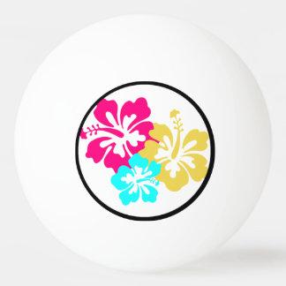ハワイのハイビスカスの花 ピンポンだま