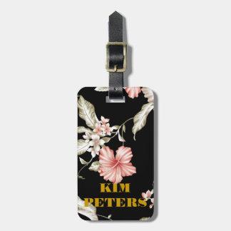ハワイのハイビスカスの花 ラゲッジタグ