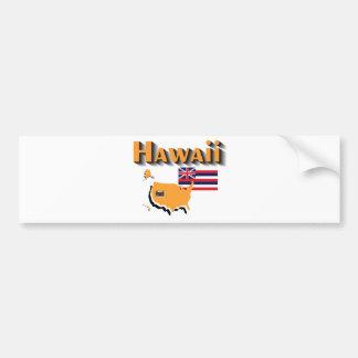 ハワイのバンパーステッカー バンパーステッカー