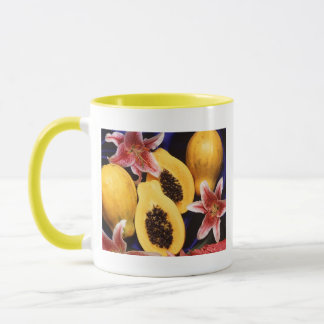 ハワイのパパイヤ マグカップ