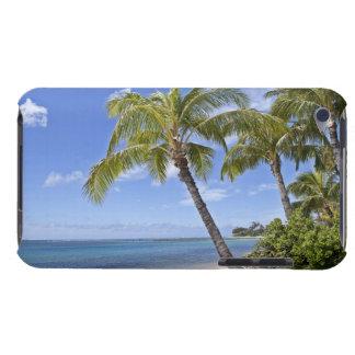 ハワイのビーチのヤシの木 Case-Mate iPod TOUCH ケース