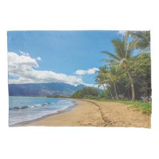 ハワイのビーチの写真 枕カバー