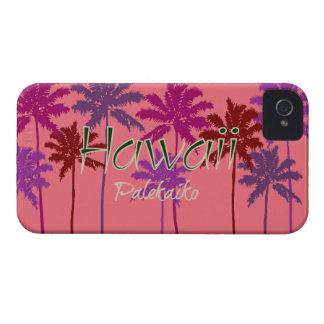 ハワイのブラックベリーのはっきりしたな箱 Case-Mate iPhone 4 ケース