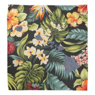 ハワイのプリント及び花のHawaiの州のバンダナ バンダナ