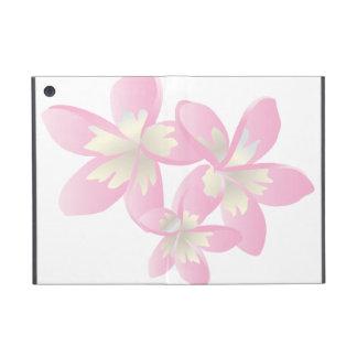 ハワイのプルメリアの花の箱 iPad MINI ケース