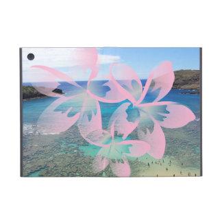 ハワイのプルメリアの花のiPad Miniケース iPad Mini ケース