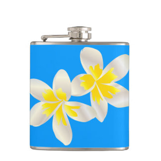 ハワイのプルメリアの花 フラスク