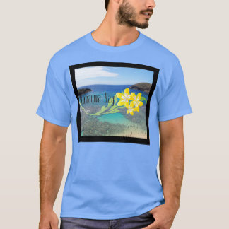 ハワイのプルメリアの花 Tシャツ