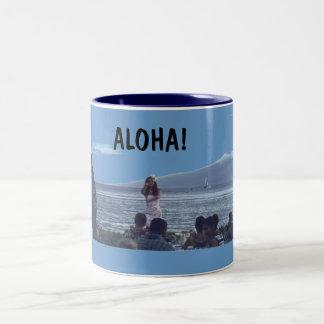 ハワイのマグ ツートーンマグカップ
