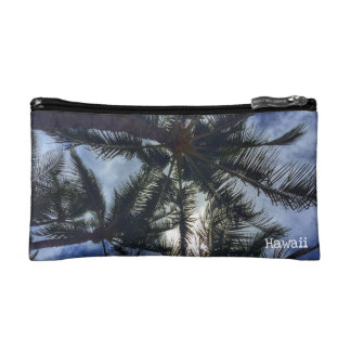 ハワイのヤシの木の化粧品のバッグ コスメティックバッグ