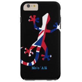 ハワイのヤモリの旗 シェル iPhone 6 ケース