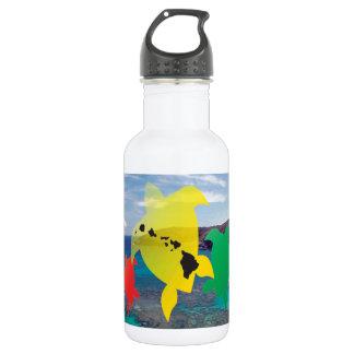 ハワイのレゲエのカメ ウォーターボトル