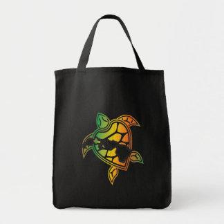 ハワイのレゲエのカメ トートバッグ