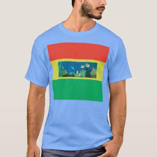ハワイのレゲエのカメ Tシャツ