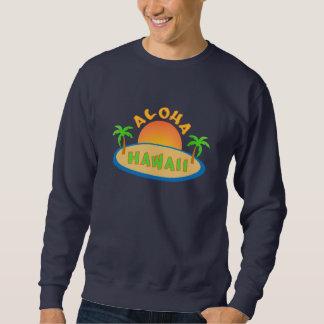 ハワイのワイシャツ-スタイル及び色を選んで下さい スウェットシャツ