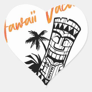 ハワイの休暇 ハートシール