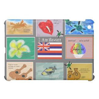 ハワイの俳句の芸術の蓄積のiPADカスタマイズ可能なH iPad Mini Case