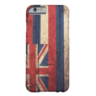 ハワイの古い木の旗; BARELY THERE iPhone 6 ケース