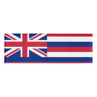 ハワイの名札の旗 名札