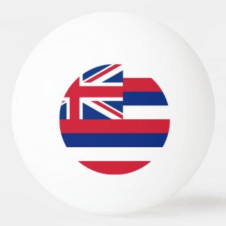 ハワイの国家の旗が付いている特別なピンポン球 卓球ボール