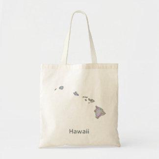 ハワイの地図 トートバッグ