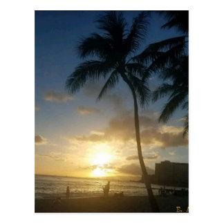 ハワイの島はライフスタイルです ポストカード