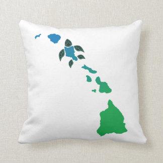 ハワイの島 クッション