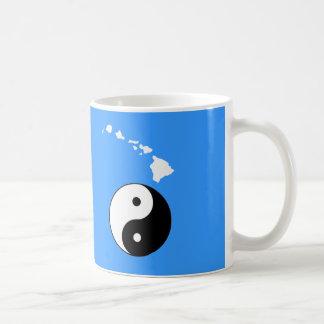 ハワイの島 コーヒーマグカップ