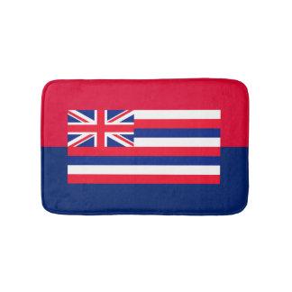 ハワイの州の旗のデザイン バスマット