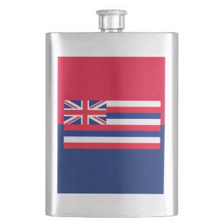 ハワイの州の旗のデザイン フラスク