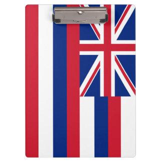 ハワイの州の旗 クリップボード