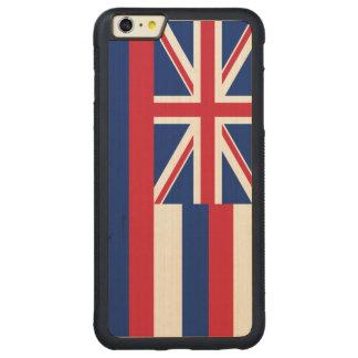 ハワイの州の旗 CarvedメープルiPhone 6 PLUSバンパーケース