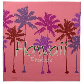 ハワイの布のナプキン ナプキンクロス