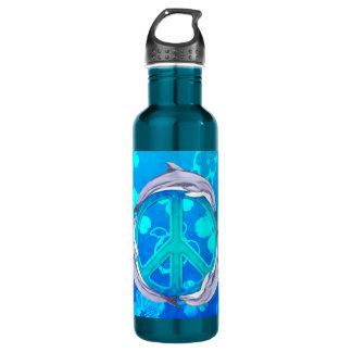 ハワイの平和イルカ ウォーターボトル