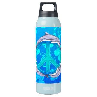 ハワイの平和イルカ 断熱ウォーターボトル