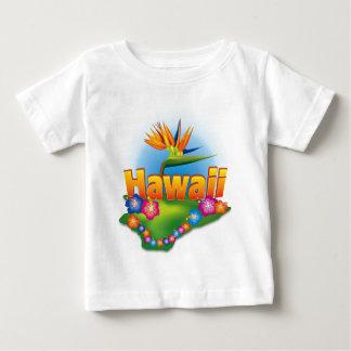 ハワイの幼児のTシャツ ベビーTシャツ