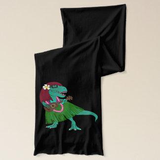 ハワイの恐竜のウクレレ スカーフ
