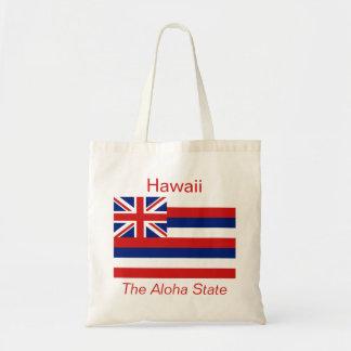ハワイの旗のバッグ トートバッグ