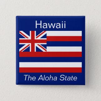 ハワイの旗ボタン 缶バッジ