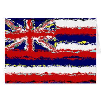 ハワイの旗 カード
