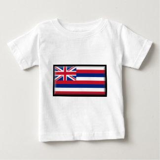 ハワイの旗 ベビーTシャツ