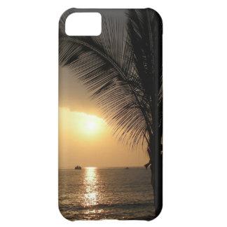 ハワイの日没の穹窖の箱 iPhone5Cケース