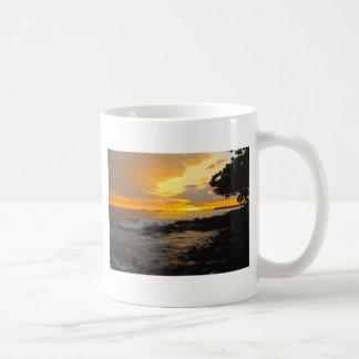 ハワイの日没 コーヒーマグカップ