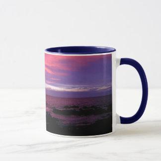 ハワイの日没 マグカップ