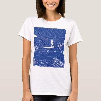 ハワイの波209 Tシャツ