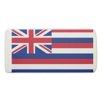 ハワイの消す物の旗 消しゴム