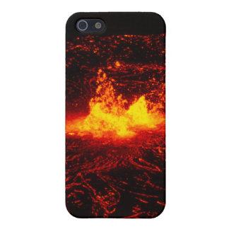 ハワイの溶岩流 iPhone SE/5/5sケース