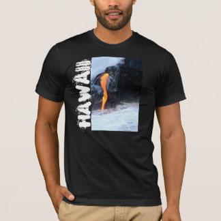 ハワイの溶岩流 Tシャツ