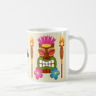 ハワイの漫画の絵 コーヒーマグカップ